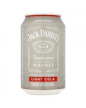 Jack Daniels & coca cola light 330ml