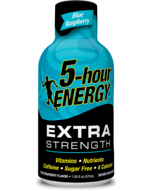 5Hrs Energy Blue Raspberry Bevanda Super Energetica Gusto Mirtillo 57Ml