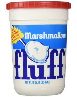 Fluff crema spalmabile marshmallows gusto vaniglia barattolo gigante da 452gr