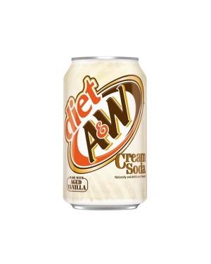 A&W Diet Cream Soda 355ml