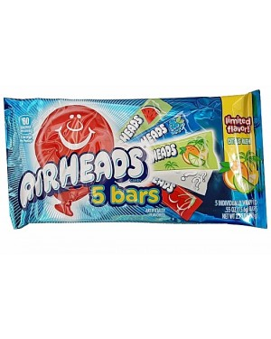 Airheads Assorted Flavours 5 Bar Pac