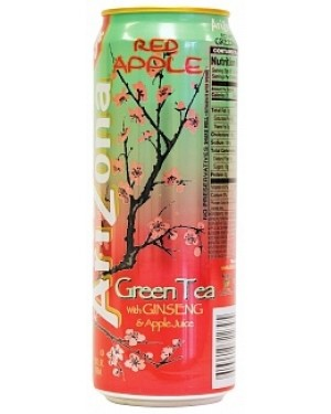 Arizona Red Apple Green Tea 680 ml