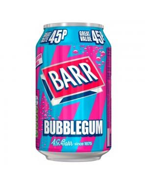 Barr Bubblegum 330Ml Bevanda Frizzante Al Gusto Gomma Big Babol