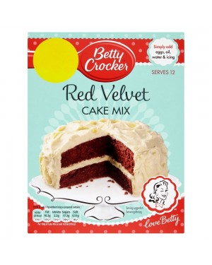 Betty Croker preparato per torta alla red velvet 425g