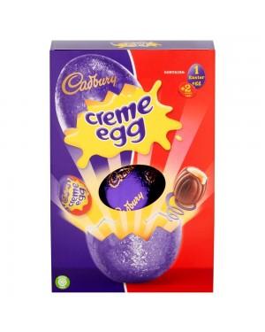 Cadbury Creme Egg Large 258G Uovo Di Paqua Con Centro Morbido