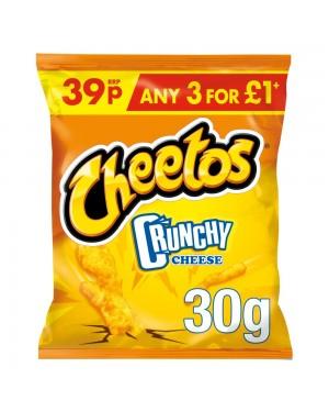Cheetos crunchies ricci di mais al formaggio 30g