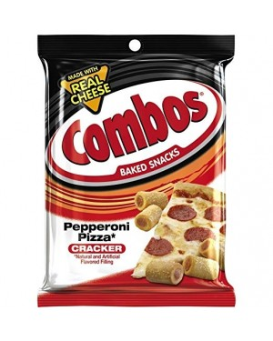 Combos Peperoni Big Bag Pretzel Ripieni Gusto Pizza Al Salame Piccante 179G