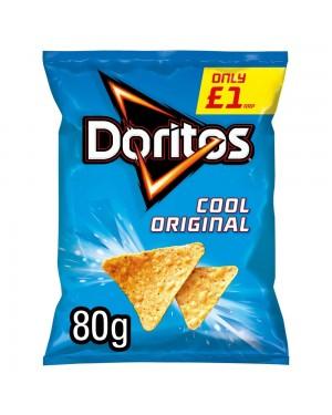 Doritos Cool Original 80G Patatine Di Mais Gusto Classico
