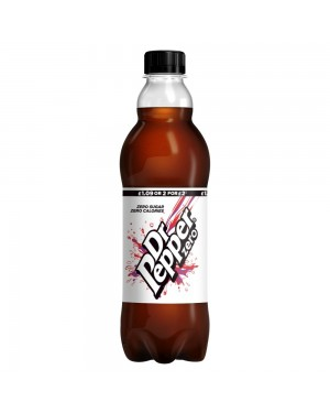 Dr Pepper Zero Sugar 500Ml Bevanda Senza Zuccheri
