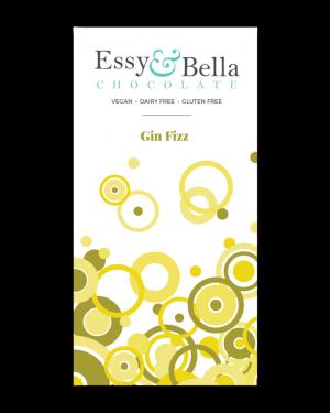 Essy & Bella Dairy & Gluten Free Gin Fizz Chocolate Bar 100g