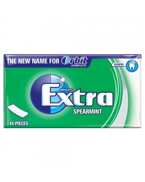 Extra Spearmint Sugarfree Chewing Gum 10 Piece