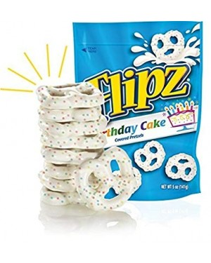 Flipz Birthday Cake 141g