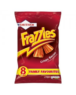 Frazzles crispy bacon 8 packs 150g