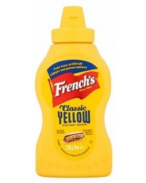 Frenchs Classic American Yellow Mustard