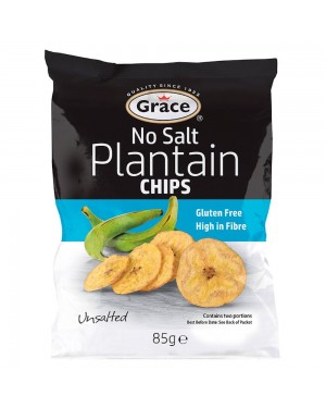 Greace plantain, chips di banana senza sale 85g