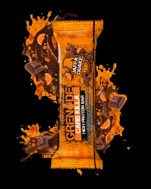 Grenade Energy Bar Choccolate And Orange Barretta Energetica Al Cioccolato E Arancio