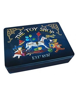 Grandma Wild's Square Rocking Horse Toy Shop Tin (Butter Shortbread Petticoat Tails) 400G