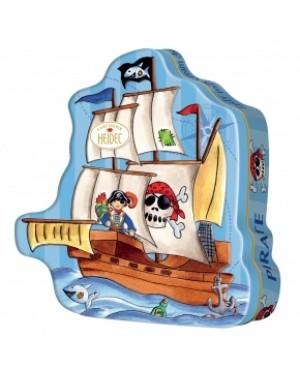 Heidel Pirate Ship Gift Tin 118g