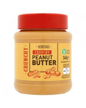 Heritage Crunchy Peanut Butter 340g
