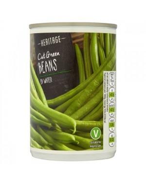 Heritage Cut Beans Fagiolini Precotti In Acqua 290G