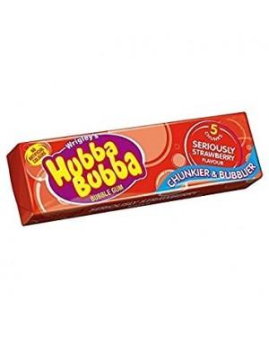 Hubba Bubba Serious Strawberry Gomme Da Masticare Alla Fragola