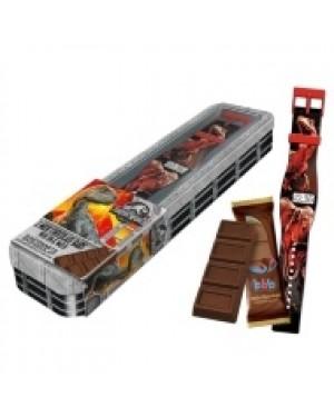 Jurassic Park Orologio Digitale Con Due Barrette Di Cioccolato Al Latte