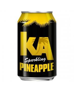 Ka sparkling pineapple 330ml