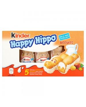 Kinder Happy  Hippo T5 Confezione Da 5Pz Gusto Nocciola
