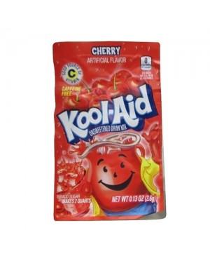 Kool Aid Cherry Mix Per Creare Bevanda Da 2Lt Gusto Ciliegia  4,8G