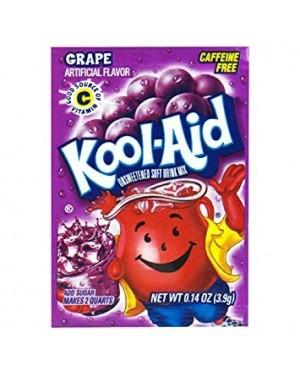 Kool Aid Grape Mix Per Creare Bevanda Da 2Lt Gusto Uva 4,8G