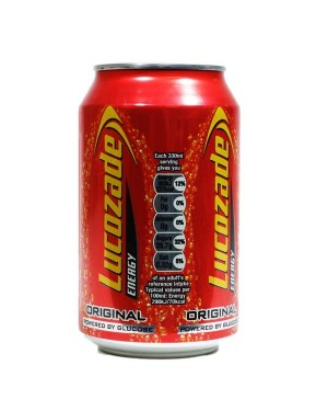 LUCOZADE ENERGY DRINK 330ML