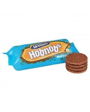 Mcvities Hobnobs Biscotti Di Avena Ricoperti Di Cioccoalto Al Latte