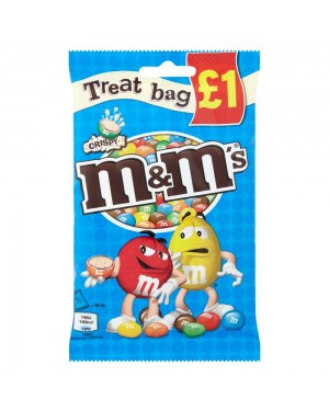 M & M's Crispy Chocolate Treat Bag