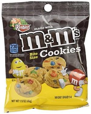 M&m's mini cookies