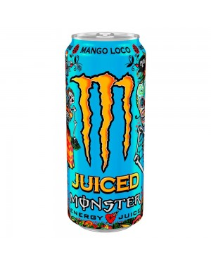 Monster Mango Loco Energy Drink Can