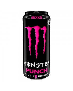 Monster Punch Mixxd Energy Drink Can
