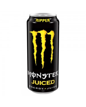 Monster Ripper Energy Drink Can