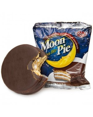 Moon Pie 2X Crackers Ricoperti Di Cioccolato Con Ripieno Al Marshamllows