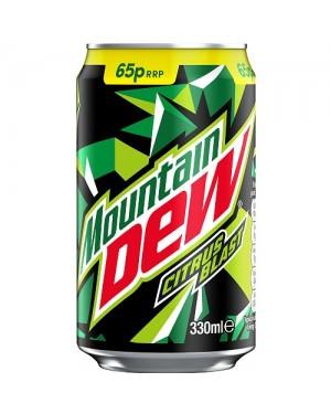 Mountain Dew Citrus Soda Agli Agrumi 330Ml