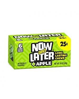 Now & Later Apple 6X Caramelle Morbide Al Gusto Di Mela Verde