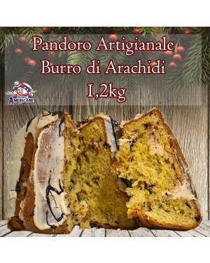 Pandoro Artigianale Burro di Arachidi & Cioccolato 1.200 Gr