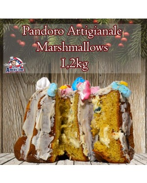 Pandoro Artigianale Marshmallows 1.200Gr