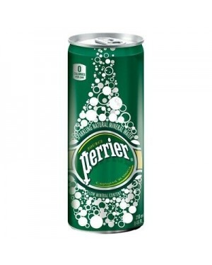 Perrier slim can 33cl