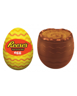 Reese's Peanut Butter Egg with Reese's Pieces