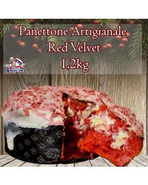 Panettone Artigianale Red Velvet 1.200Gr Senza Canditi