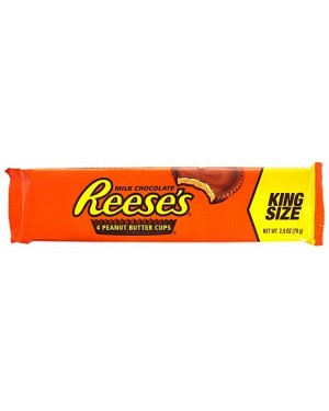 Reese's Peanut Butter 4 Cup King Size