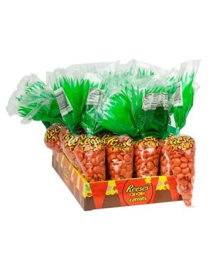 Reese's Pieces Easter Carrots