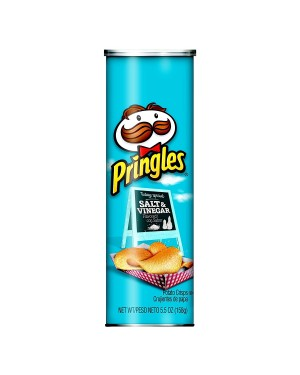 Pringles salt e vinegar 158g