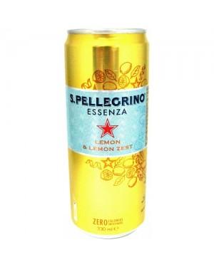 San Pellegrino Essenza Lemon & Lemon Zest