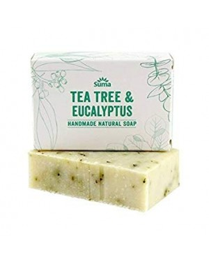 Suma Tea Tree & Eucalyptus Soap 95g